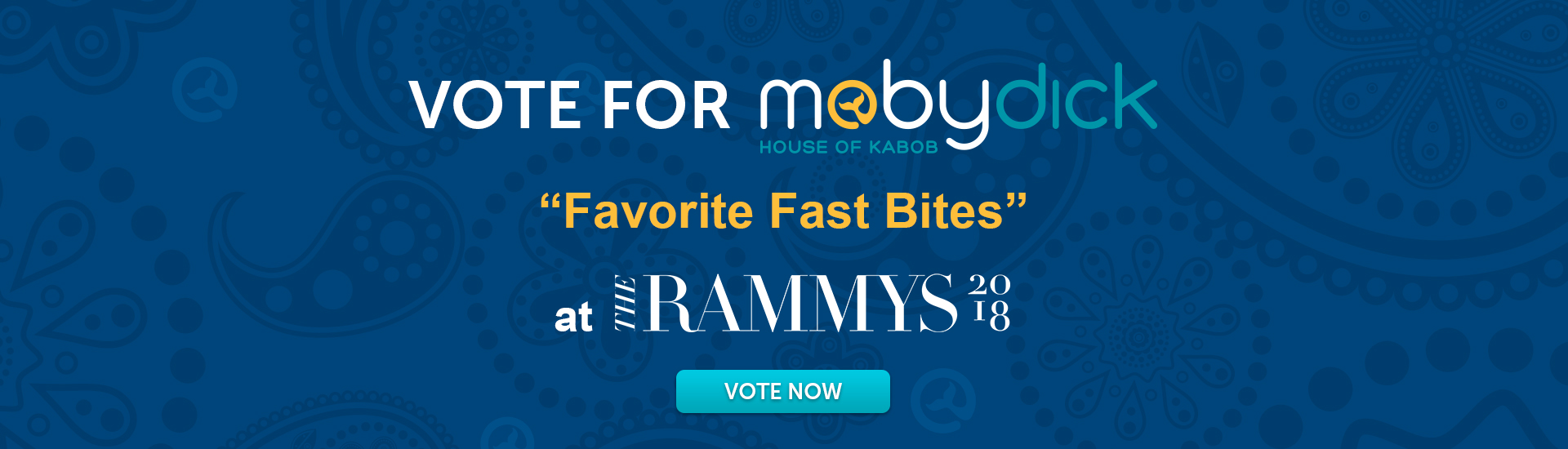 Vote for Moby Dick House of Kabob