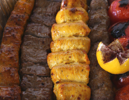 Moby Dick's Signature Kabob
