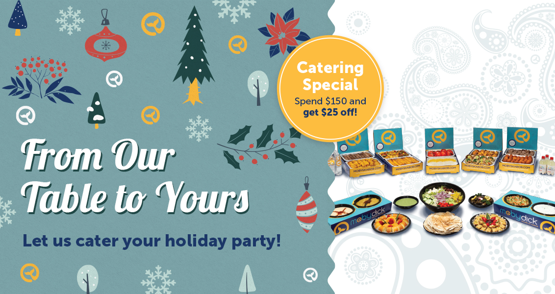 Holiday Catering Promotion