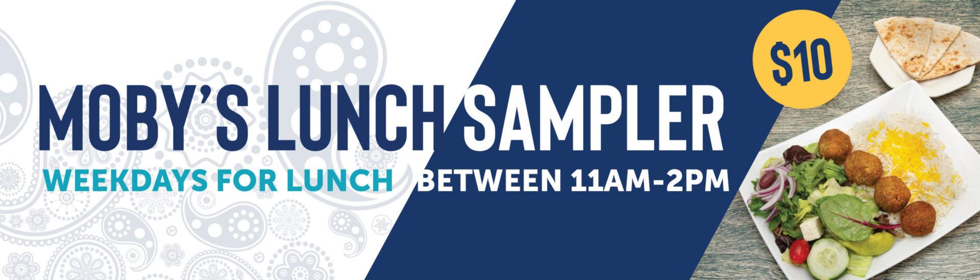 Lunch Sampler Special