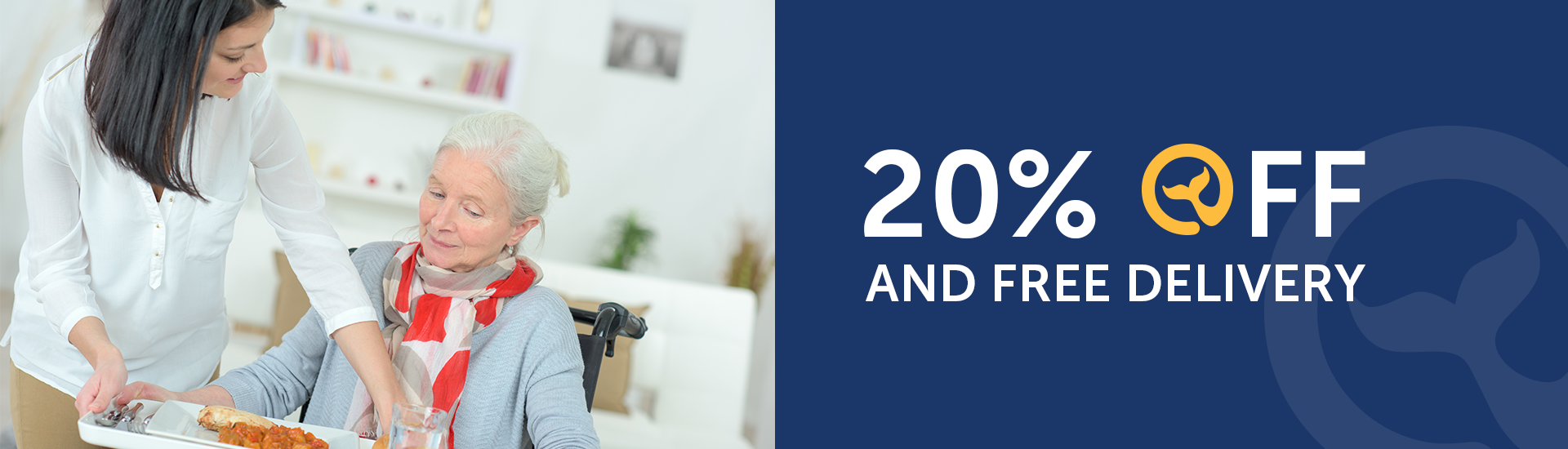 20% Off with Free Delivery for all Assisted living, Senior & Retirement Home facilities